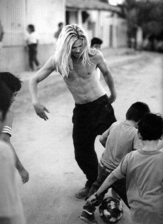 brad pitt sesion fotografica en mexico 1994 8