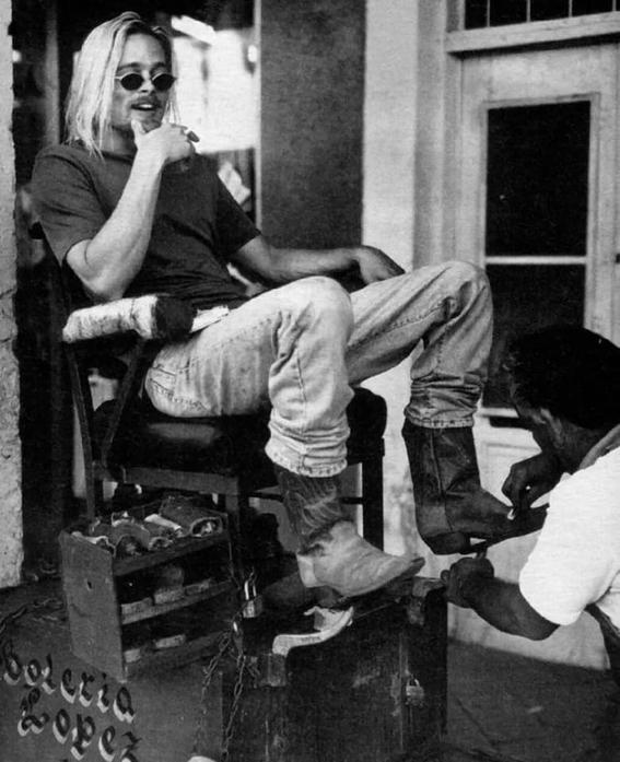 brad pitt sesion fotografica en mexico 1994 9