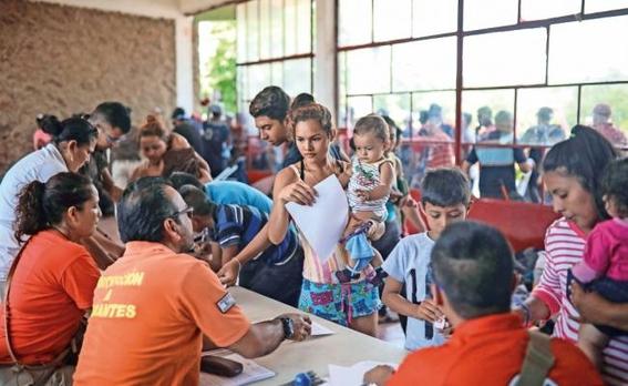 mexico ha recibido 1700 solicitudes de refugio de migrantes centromericanos 2