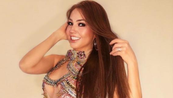 thalia publica video en instagram cantando 4