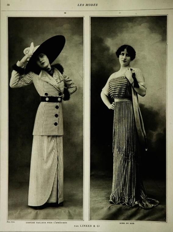 fotos de como era la moda durante el titanic 5