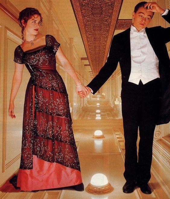fotos de como era la moda durante el titanic 1