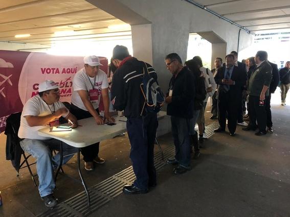 reportan irregularidades en consulta ciudadana del naicm 1