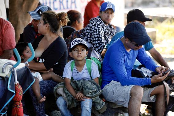 ninos migrantes deportados en mexico 2