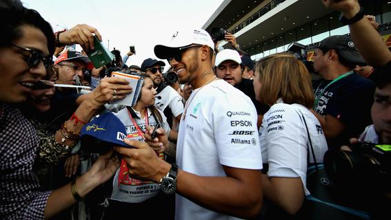 ¿que necesita lewis hamilton para ser campeon de formula 1 en mexico 1