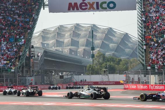 listo el operativo para el gran premio de mexico en formula 1 1