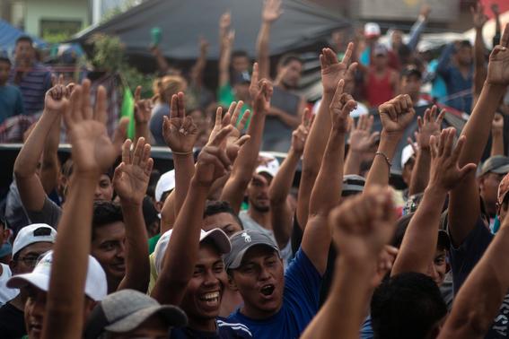 caravana migrante se dirige a la ciudad de mexico 2