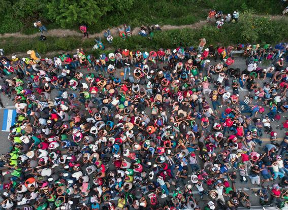 caravana migrante se dirige a la ciudad de mexico 3