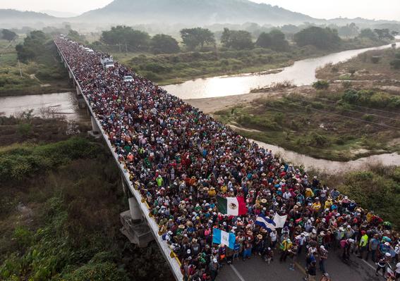 caravana migrante se dirige a la ciudad de mexico 4