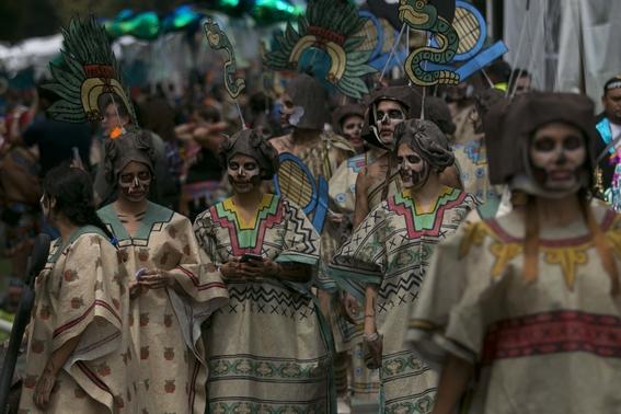 desfile de dia de muertos 7
