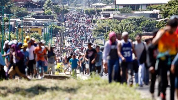 caravana migrante quedarse en oaxaca este domingo 1