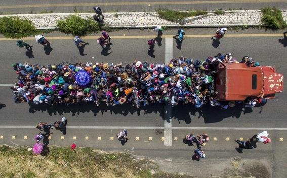 caravana migrante quedarse en oaxaca este domingo 2