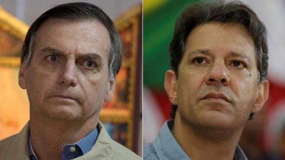 bolsonaro haddad brasil celebra segunda vuelta elecciones 1