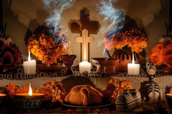 los dias en que se celebran a los muertos en mexico 3