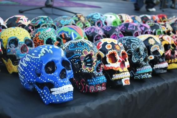 los dias en que se celebran a los muertos en mexico 4
