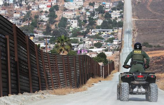 tropas estadounidenses en la frontera de mexico 1
