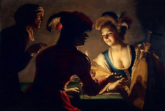 artistas pintores para entender el uso de la luz 15