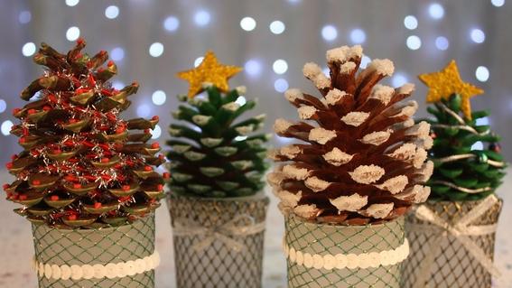formas de hacer decoraciones navidenas 3