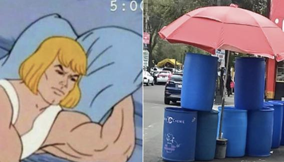 los mejores memes del megacorte de agua 1
