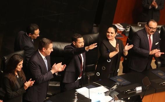 senado promulga ley de salarios maximos en gobierno 2