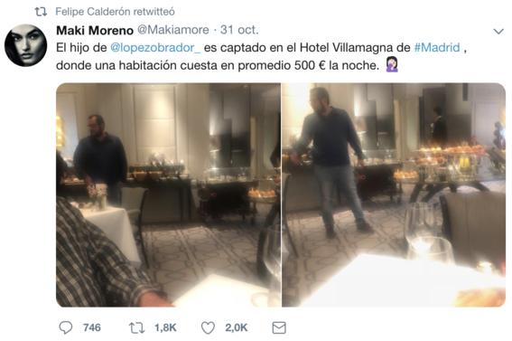 hijo de amlo en lujoso hotel de espana 3