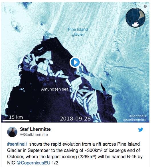 un iceberg mas grande que manhattan se separo de la antartida 3