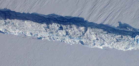 un iceberg mas grande que manhattan se separo de la antartida 1