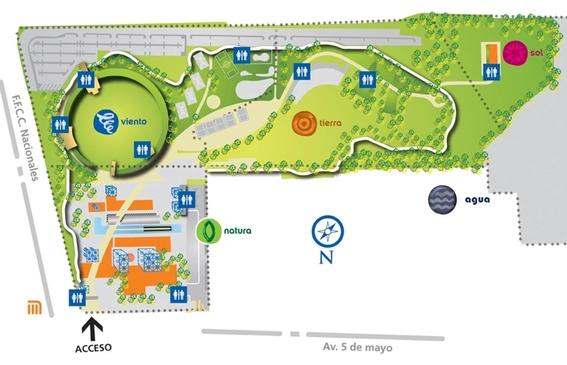 como llegar al parque bicentenario 2