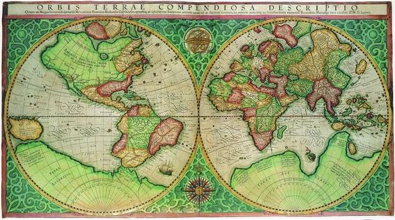el mapamundi que conocemos es un engano 1
