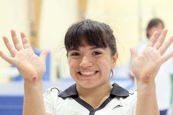 ¿quien es la gimnasta mexicana alexa moreno 3