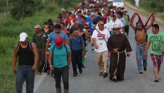 caravana migrante puebla veracruz 1