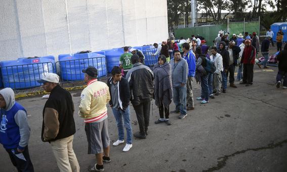 caravana migrante viene a cdmx paso por veracruz 1