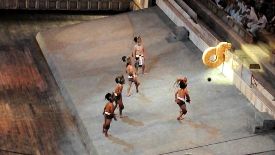 inauguran cancha de pelota prehispanica en teotihuacan 1