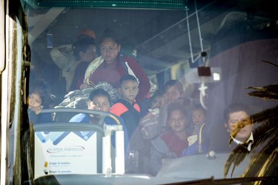 caravana migrante en cdmx 6