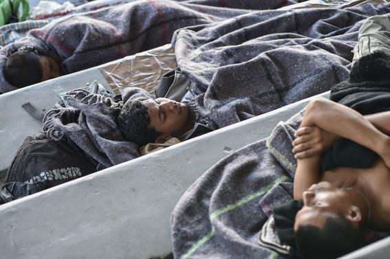 caravana migrante en cdmx 8