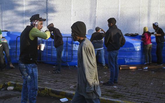 caravana migrante en cdmx 14