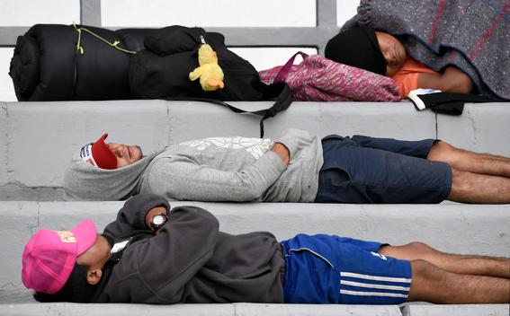 caravana migrante en cdmx 15