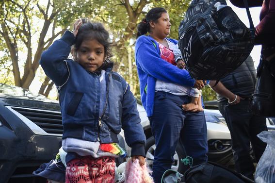 caravana migrante en cdmx 19