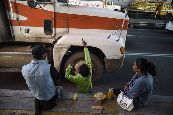 caravana migrante en cdmx 4