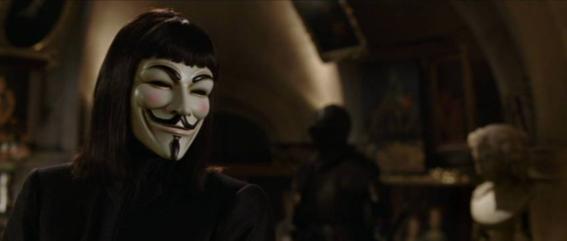 mascara v de vendetta guy fawkes noviembre 5 1