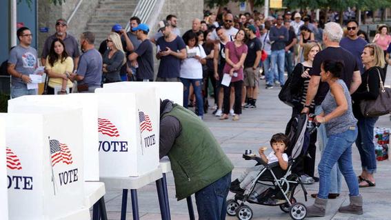 reglas impediran que millones de estadounidenses voten este martes 3