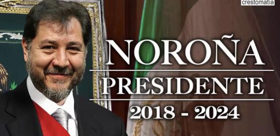 fernandez norona presidente de mexico 1