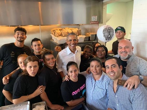 barack obama come tacos 1