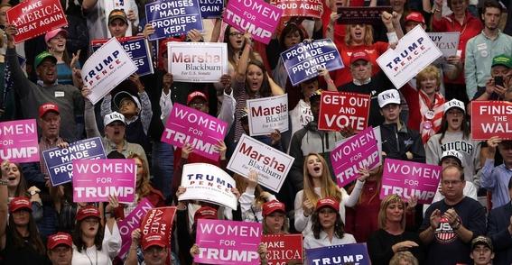 elecciones estados unidos 2018 trump contra mujeres e hispanos 3