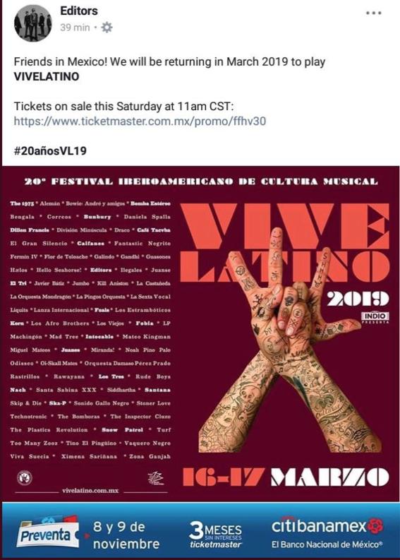 vive latino 2019 cartel horarios y lo que tienes que saber 1