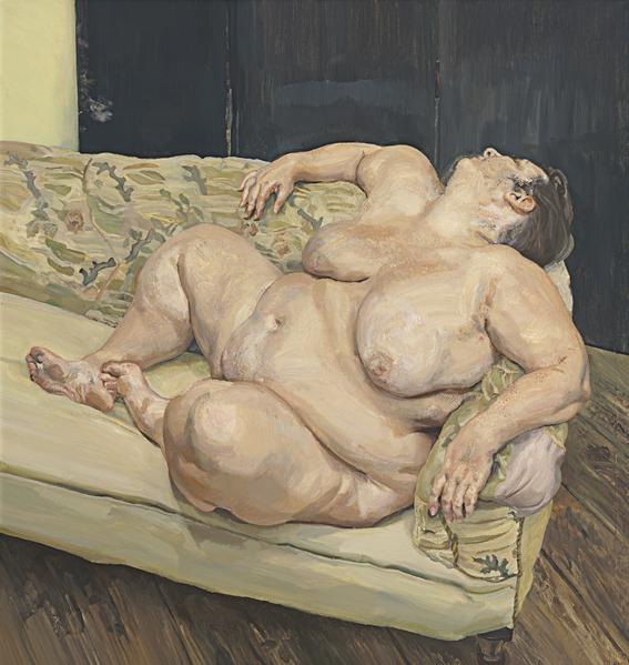 sue tilley musa de lucian freud pintura belleza y erotismo 7