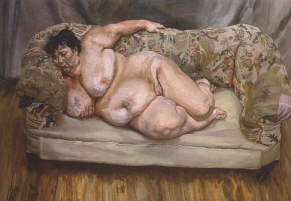 sue tilley musa de lucian freud pintura belleza y erotismo 3