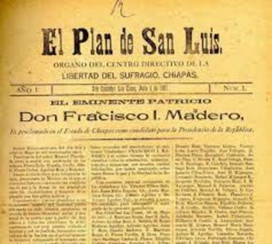 quien inicio la revolucion mexicana 1