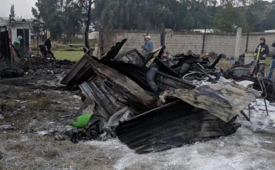 nueva explosion en talleres de pirotecnia de tultepec 1