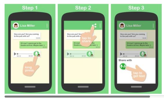 convertir audios de whatsapp en texto 2